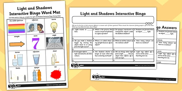 Light and Shadow PowerPoint - light and shadow, light and dark