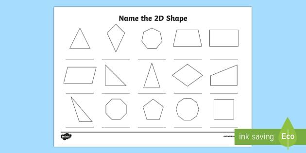 name the 2d shape year 5 worksheet worksheet 2d shape year 5. Black Bedroom Furniture Sets. Home Design Ideas