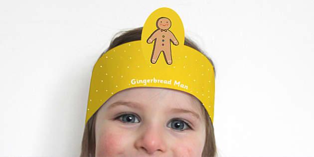 Gingerbread Man Headband