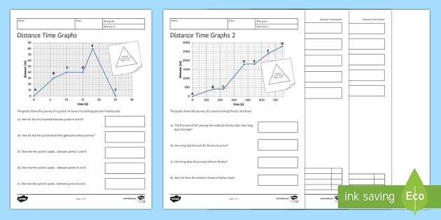 distance time graphs worksheet worksheets homework speed distance. Black Bedroom Furniture Sets. Home Design Ideas