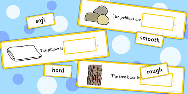Fill In The Adjective Basic Concept Sentences Matching Activity