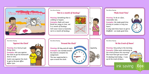 Idioms Display Lettering - idioms display, teaching idioms