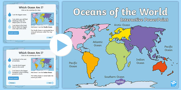 Oceans of the world interactive powerpoint australian gumiabroncs Images