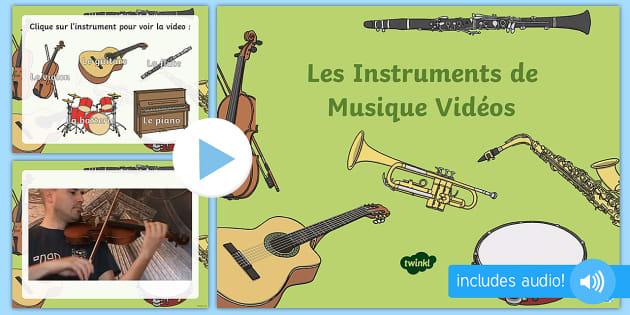 Powerpoint Les Instruments De Musique Teacher Made