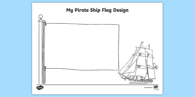 FREE! - Design Your Own Ship Flag Worksheet / Worksheet - worksheets