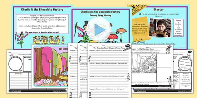 story writing lesson teaching pack to support teaching on