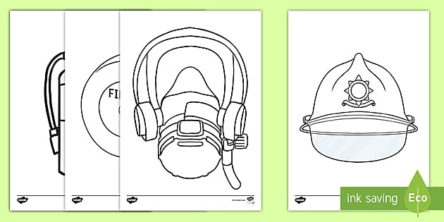 Firefighter Coloring Pages - Free Printables - MomJunction | 315x630