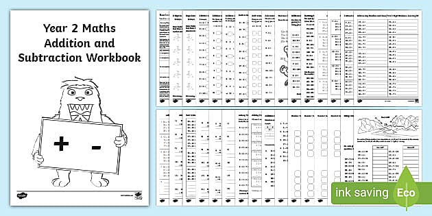 Year 2 Maths Worksheets Addition And Subtraction