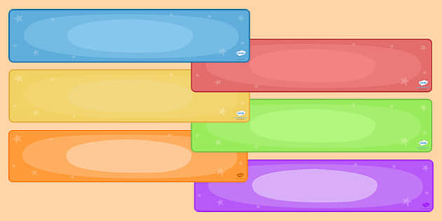 editable display banners pack colours display banner