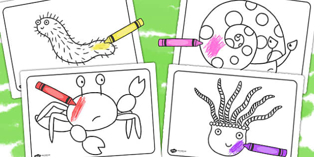 Free Colouring Sheets To Support Teaching On Sharing A