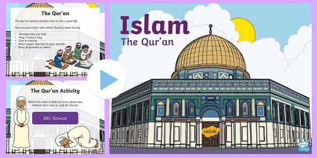 preview of KS1 Islam and the Qur'an Teaching and Task Setting PowerPoint