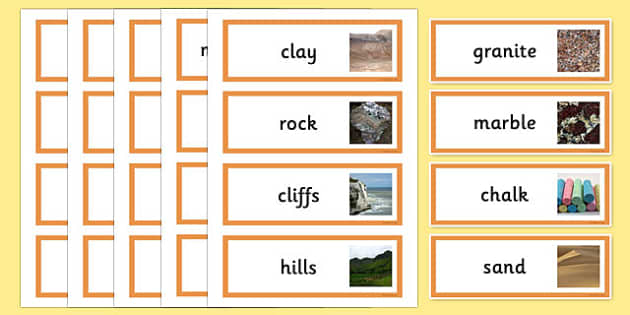 Rocks Compare and group together different kinds of rocks on the