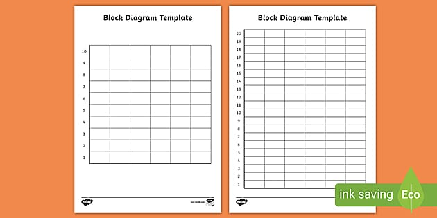 Block Diagram Template Activity (teacher made)Twinkl