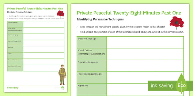 Persuasive Speech Worksheet Activity Sheet To Support Teaching