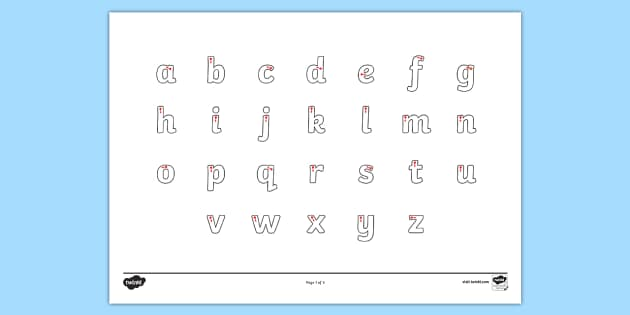 letter formation alphabet handwriting sheet lowercase alphabet. Black Bedroom Furniture Sets. Home Design Ideas