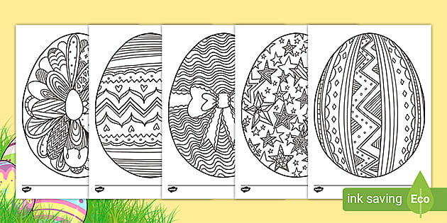 t t easter egg mindfulness colouring pages ver 1