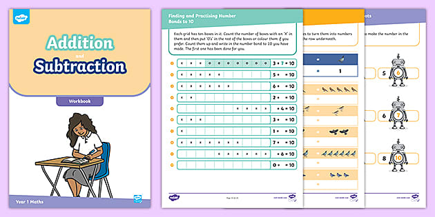 Maths Worksheets For 5-Year-olds: Addition And Subtraction