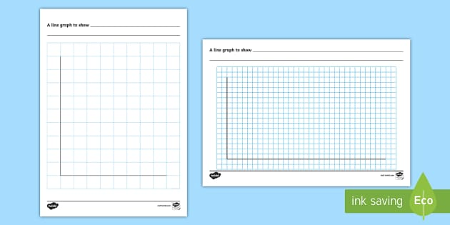 Line graph template activity sheet handling data statistics pronofoot35fo Image collections