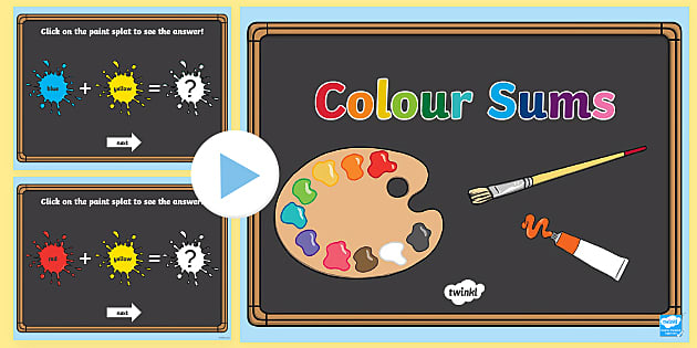 CfE Hot and Cold Colours PowerPoint - Art, Colours, Cold
