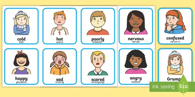 Gefühle kennenlernen kindergarten