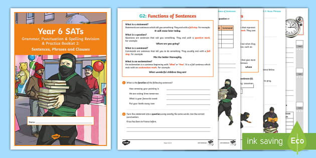 Year 6 SATs Survival: Grammar, Punctuation & Spelling