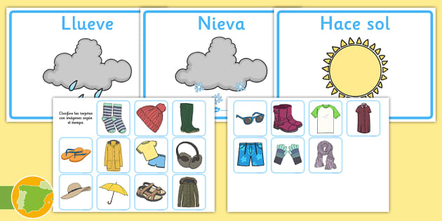 Kids learn clothing vocabulary for