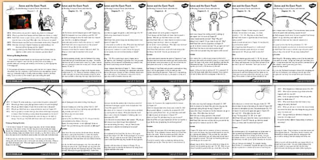 Guided Reading Activity Pack To Support Teaching On James And