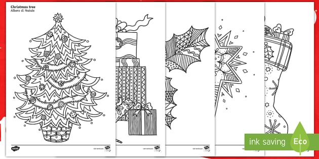 christmas in italy coloring pages - photo#28