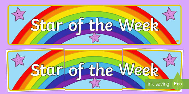 Star Of The Day And Week Primary Resources