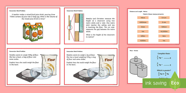 year 5 measurement converting measures maths mastery challenge cards year 5. Black Bedroom Furniture Sets. Home Design Ideas