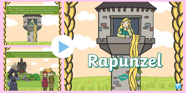 Rapunzel PowerPoint | Fairy Tale | Early Years/Primary