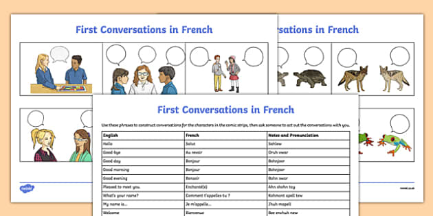 french greetings worksheet worksheet worksheet first conversations. Black Bedroom Furniture Sets. Home Design Ideas