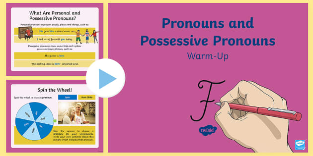 KS2 Possessive Pronouns PowerPoint - Primary Resource