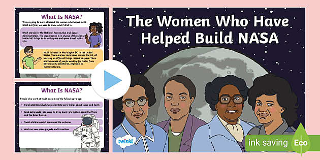 KS1 The Women Who Helped Build NASA PowerPoint