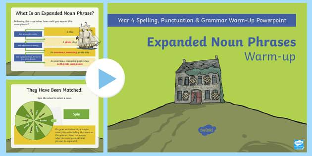 academic writing noun phrases powerpoint