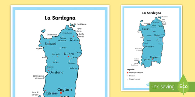Cartina Fisica Sardegna Da Stampare.78 Top Italia Teaching Resources