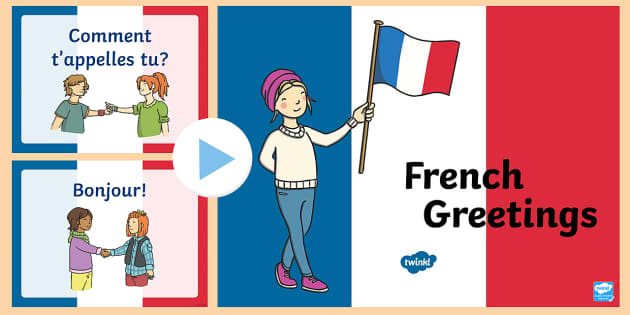 French greetings powerpoint french greetings a5 flashcards m4hsunfo