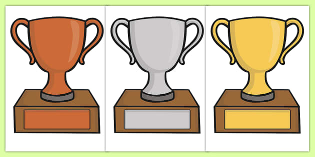 picture about Printable Trophy named Cost-free! - Editable Clroom Award Trophies - Gain