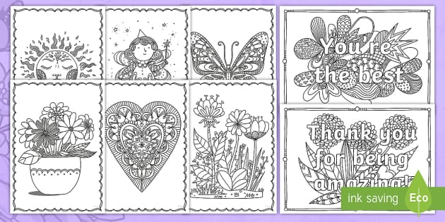 Ks1 Mother S Day Mindfulness Colouring Pages