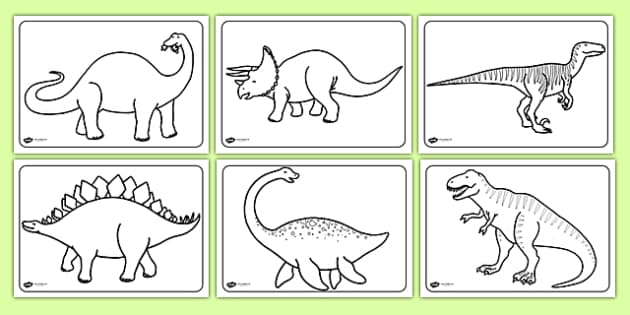 free dinosaurs colouring sheets education home. Black Bedroom Furniture Sets. Home Design Ideas