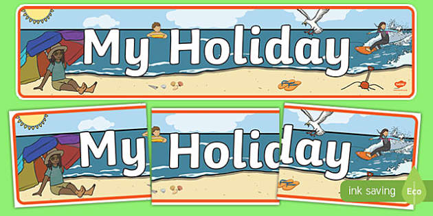 My Holiday Display Banner