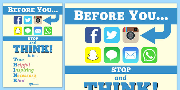 Internet Safety Inspiration Poster Teacher Made
