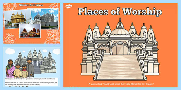 places of worship hindu mandirs ks2 powerpoint powerpoints. Black Bedroom Furniture Sets. Home Design Ideas