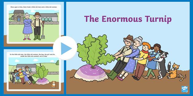 The Enormous Turnip Story Ks1 Resource