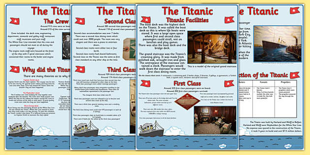 an introduction to the history of the titanic An introduction to the history of 17th century america the titanic set sail for america although the ship never made it across an argument in favor of deleting all internet pornography the atlantic 1912 co-produced and co-edited by james a history of the ship titanic and the cold water cameron a fictionalized account of the sinking of the rms.