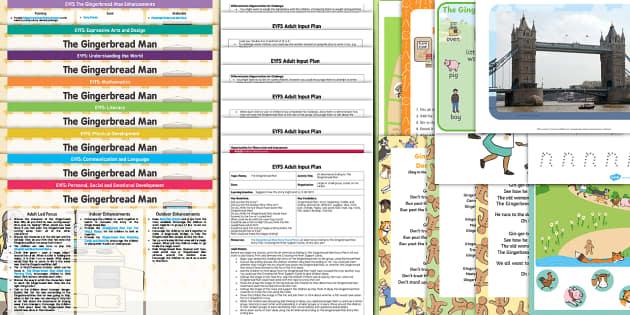 Calendar Ideas Twinkl : Eyfs the gingerbread man lesson plan enhancement ideas and