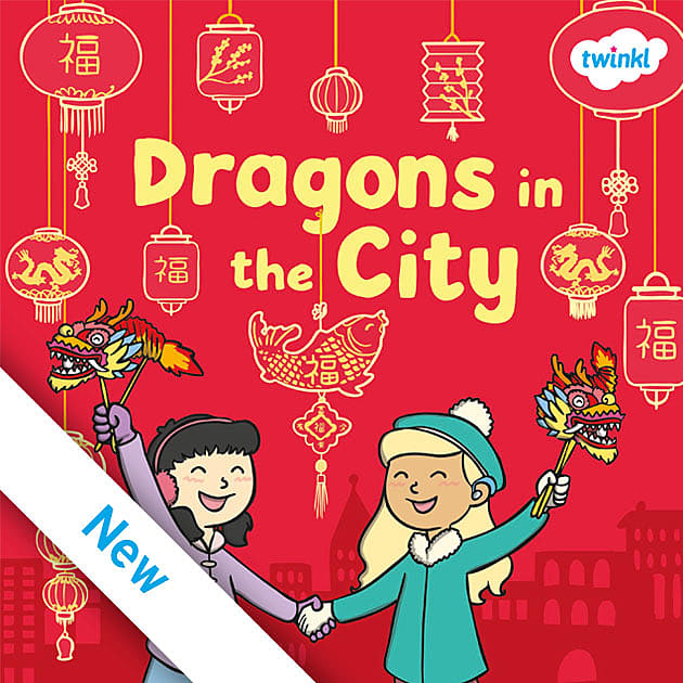 Dragons in the City Book Cover
