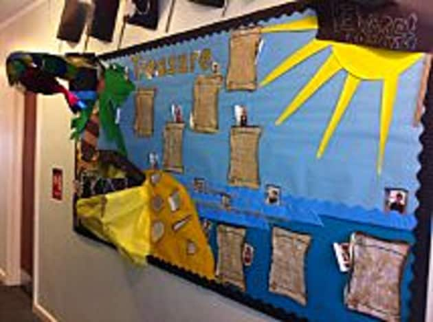 Pirates Display, class display, Pirates, classroom display, Sand, Display, Resources, Primary Education, Early Years (EYFS), KS1 & KS2 Primary Resources