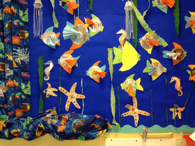 Classroom Display Ideas Under The Sea ~ Under the sea display class starfish