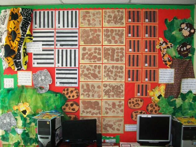 Animals Class Display, class display, Animals, Display, Designs, Classroom Display, Animal Patterns, Early Years (EYFS), KS1 & KS2 Primary Resources